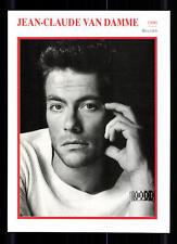 Jean Claude van Damme STARPORTRAITKARTE - 80er Jahre TOP  + G 22564