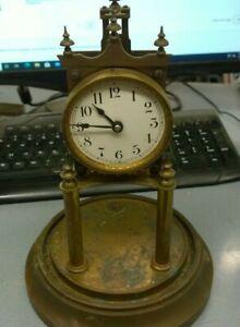 Early 1900's Gustav Becker Rotary Pendulum 400 Day Anniversary Clock