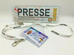 Internationaler Presseausweis, Personalisiert