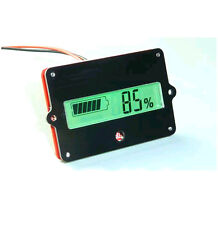 Lead batteries indicator Battery capacity LCD probador 12v-24v F/lead acid lipo