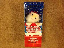 Santa marionette puppet - brand new in box