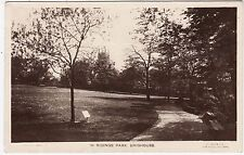 BRIGHOUSE - In Ridings Park - Lilywhite Published - 1923 used Yorkshire postcard