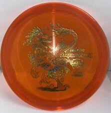 Adam Hammes CryZtal Raptor - Limited Edition - Orange With Gold Stamp
