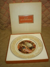 Nos - Vintage 1973 Avon Betsy Ross Collector's Plate by E. Wedgwood England