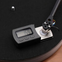 Turntable Stylus Force Scale Gauge 5g/0.01g Meter Fits Tonearm Phono Cartridge