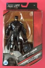 "D.C. COMICS MULTIVERSE JUSTICE LEAGUE MOVIE BATMAN 6"" + CHEST STEPPENWOLF, NEW!"