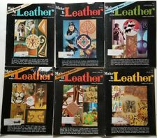 Make it Leather vintage Magazines 6 issues 1974-1975 pullouts patterns