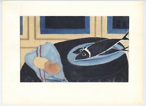 Georges Braque pochoir printed in 1962 - 209186