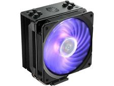 Cooler Master Hyper 212 RGB Black CPU Air Cooler, 4 Direct Contact Heatpipes Fan