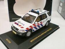 IXO 1/43 - MERCEDES M-CLASS DUTCH POLICE 2003 POLIZIA