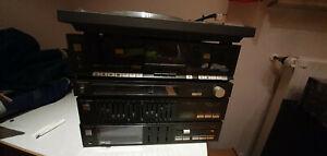 Technics CD Stereo Anlage Musikanlage Mini HIFi Amplifier TapeDeck Vintage 1984
