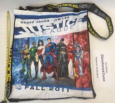 SDCC San Diego Comicon Bag Back-Pack Fall 2011 Justice League Superman Batman