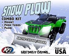 "Arctic Cat 500 XR & 550 XR (Alterra) 4x4 - 2015  KFI ATV 60"" Snow Plow Combo Kit"