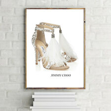 JIMMY Ostrich Feather SHOES PRINT A3 POSTER PRINT WALL HANGING
