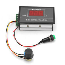 DC 6-60V 12V 24V 36V 48V 30A PWM DC Motor Controller Start Stop Switch DH