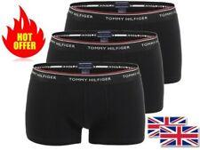 Men's Tommy Hilfiger Boxers - Trunks Premium cotton underwear 3 psc Black