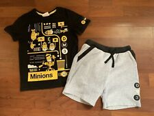 *Minions* Despicable Me 3 T-shirt & Shorts Set 6-7 Years