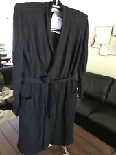 Restoration Hardware 100% Cashmere SPA (SHORT) Robe Size Large L $329