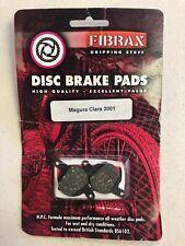 """New"" FIBRAX All Weather Bicycle Disc Brake Pads - Magura Clara 2001"
