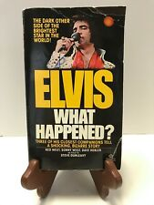 ULTRA RARE ELVIS WHAT HAPPENED? FIRST EDITION BOOK WITH RARE PAGE