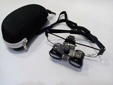Portable Dental Binocular Magnifier Loop 25x Medical Adjustable Glass Lens
