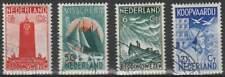 Nederland gestempeld 1933 used 257-260 - Zeemanszegels (03)