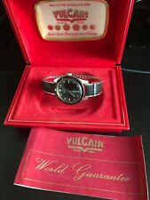 Vintage Vulcain Nautique Dive Watch In Original Box