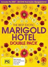 The Best Exotic Marigold Hotel / Second Best Exotic Marigold Hotel (DVD, 2015, 2-Disc Set)