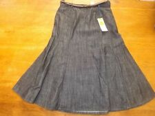 M&S Patternless A-line Regular Size Skirts for Women