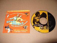Gene DePaul-Seven Brides for Seven Brothers Original Soundtrack cd 1996 EX Rare