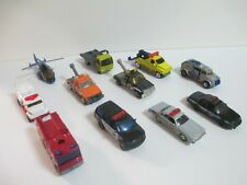 MATCHBOX EMERGENCY VEHICLES POLICE FIRE DEPARTMENT TOWING + MORE USED LOOSE LOT