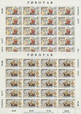 EUROPA CEPT 1992 AMERIKA KOLUMBUS - FÄRÖER FOROYAR 231-32 KLEINBOGEN **