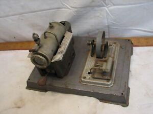 Vintage Wilesco D10 Toy Model Live Steam Engine Pellet Burner Germany B