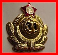 Rusa escarapela URSS marina de guerra oficial Soviet Russian Navy Officer kokade