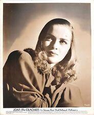 JOAN McCRACKEN - Original Vintage WARNER BROS. PORTRAIT 1940's - AMAZING