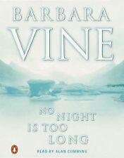 Barbara Vine No Night Is Too Long (  Audio cassette 1992) free post