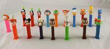 Lot of 18 Pez Dispensers Disney Goofy Winnie The Pooh Garfield Ta   z m6b19