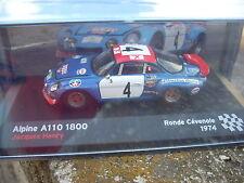 ALPINE A110 1800 J.HENRY RONDE CEVENOLE 1974 SCALA 143