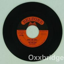 THE JIVE FIVE My True Study/When I Was Single BELTONE Original 1961 Doo Wop NM