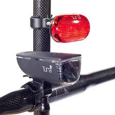 NUOVO tura forza - 6 cicli di Sicurezza Luce Set-Anteriore e Posteriore-Road Bike Tour bicycl