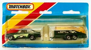 1982 Matchbox Two-Packs TP-102 Transporter Set / Ford / LIGHT ORANGE GLIDER