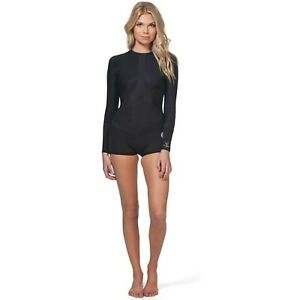 Rip Curl Madi Long Sleeve Boyleg Spring suit Wetsuit Size 6 NWT Swimsuit 1mm