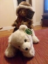 Willy and Chilly #1572, Bearington Bear, Retired, Rare with Tag Error