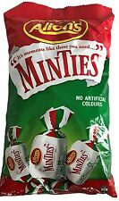 Allen's Minties 1 kg Chewy Mint Lollies Party Favors Bags Boxes Candy Allens