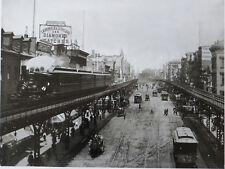 Bowery, New York City 1896 – New York Times Photograph