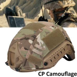 Airsoft Military Paintball Tactical Combat Helmet Cover Skin for Fast Helmet USA