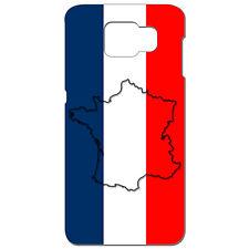 Coque 3D Téléphone - SAMSUNG GALAXY S6 - Carte de la France Bleu Blanc Rouge