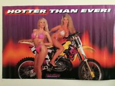 Poster HOTTER THAN EVER from early 90's 96.05 BULTACO PURSANG OSSA MONTESA MAICO