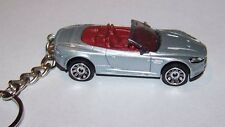 CUSTOM MADE..ASTON MARTIN DBS VOLANTE (SILVER/RED)  KEYCHAIN..GREAT GIFT!