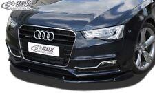 RDX Spoilerlippe für Audi S5 A5 Coupe 8T Cabrio S-Line Schwert Front Ansatz